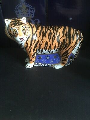 Royal Crown Derby Siberian Tiger. Limited Edition. Signed • 299.95£