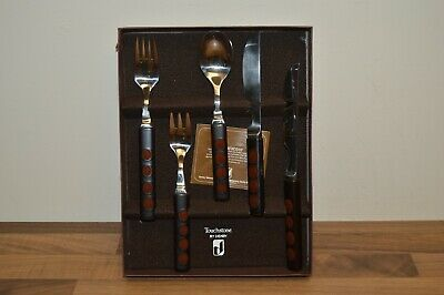 Denby Arabesque - Touchstone Agate - 5 Piece Place Setting / Cutlery (#25) • 35£