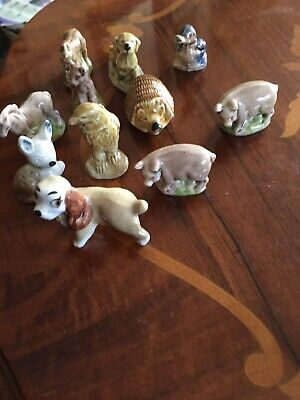 Collection Of 10 Wade Wimsies • 8£