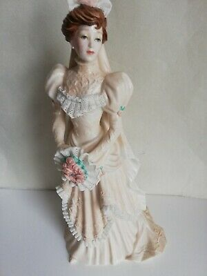 Franklin Mint Figurines Porcelain Amelua The Gibson Girl Bride By Pauline... • 27.99£