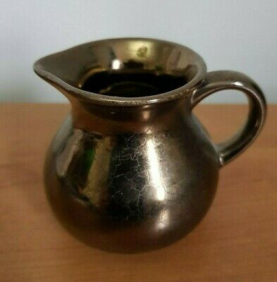 Prinknash Gold Crackle Lustre Miniature Jug • 5.50£