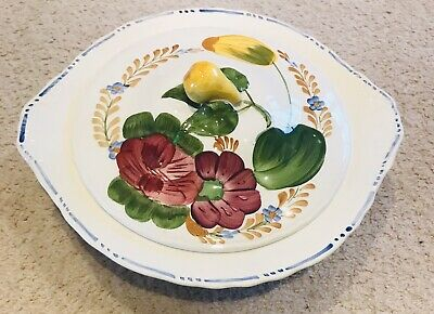Simpsons Belle Fiore Cobridge Vegetable Tureen 10  Chanticleer Ware • 25£
