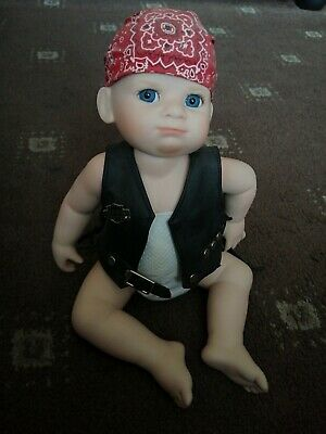 Franklin Mint Harley Davidson Poseable Pot Doll • 25£