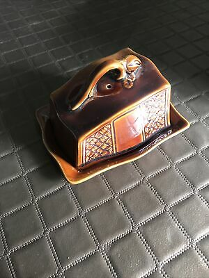 Vintage Arthur Wood Butter Cheese Dish C1950s  • 5£