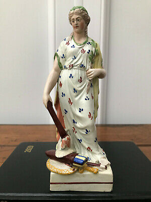 "18th Century Staffordshire Figure ""Peace"", 21.5cm High • 75£"