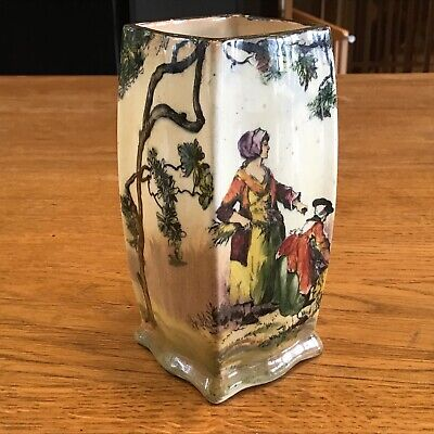 Royal Doulton English Old Scenes The Gleaners A 7350 Good Condition • 10£