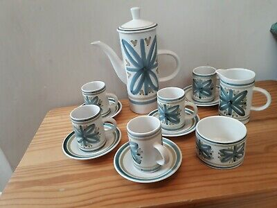 RYE POTTERY- Cinque Port  1950-70'S  Coffee Set • 43.23£