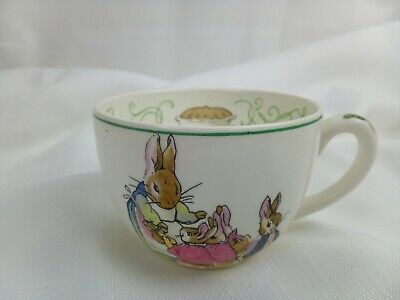 Vintage Retro Wedgwood Peter Rabbit Cup 1950s Barlaston Tea Cup Beatrix Potter • 28£