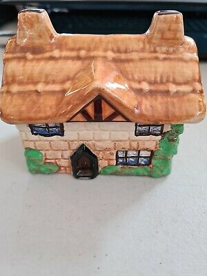 Vintage Beswick Cottage Ware - Lidded Jam Pot - Perfect Condition - • 7£