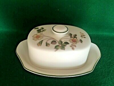Marks And Spencer M&s Autumn Leaves ~ Ceramic Butter Dish • 12.95£