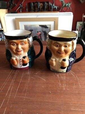 Two Superb Shorter & Son Toby Jugs. One Widecombe • 10£