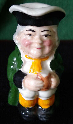 Vintage Miniature Staffordshire Toby Jug By Manor • 7.99£