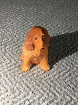 Vintage Small Branksome China Spaniel Dog Sitting  • 12£
