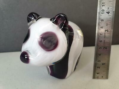 Vintage Wedgwood Glass Paperweight - Panda • 27.99£