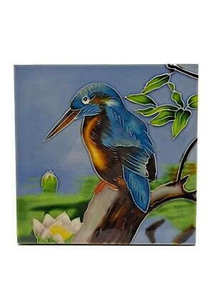Old Tupton Ware Decorative Tile Bird On Branch  • 17.99£