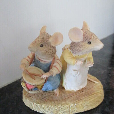 Brambly Hedge Classic Collectables Bhf22 Primrose/wilfred L/e Play Music Look! • 26.26£