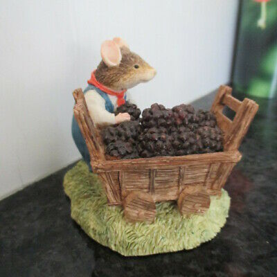 Brambly Hedge Classic Collectables Bhf17 Dusty Dogwood Load Berries  L/e  Look! • 11£