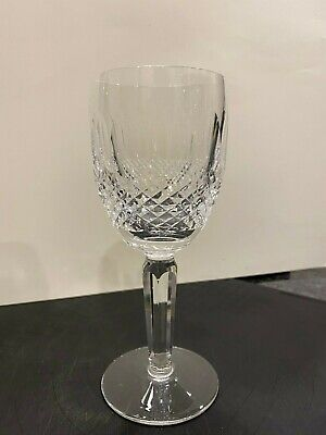 Waterford Crystal Colleen Tall Stem Claret Wine Glass. 6 1/2  Signed Waterford. • 65£