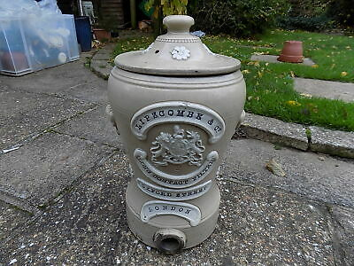 ANTIQUE VICTORIAN STONEWARE WATER FILTER LIPSCOMBE & Co. OXFORD STREET LONDON • 51£