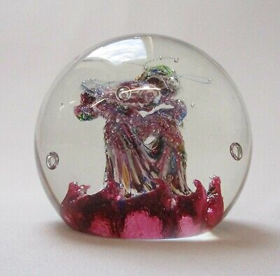 Caithness Myriad Glass Paperweight - With Gift Pouch • 27.99£