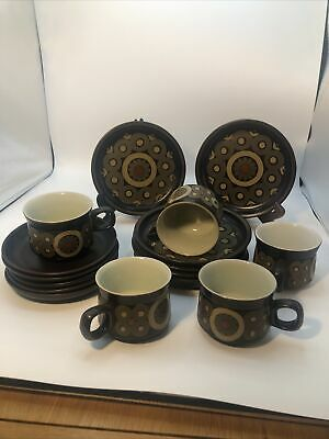 Beautiful Vintage Denby Arabesque Tea Set • 55£