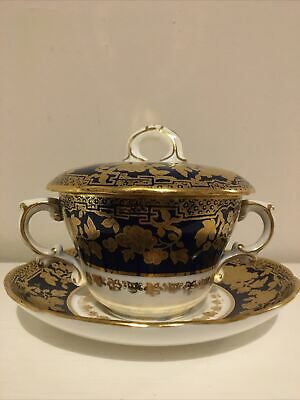 Rare Hammersley & Co Antique Chocolate Cup And Saucer Set • 85£