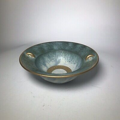 Conwy Pottery Bowl With Gilt Decoration • 9.50£