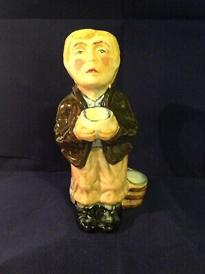 Roy Kirkham Pottery Character Jug - Charles Dickens - Oliver Twist - Handmade • 4.99£