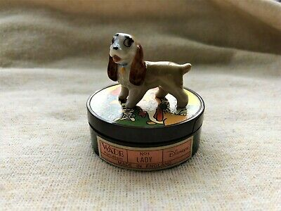 Collectable Rare Disney Wade Porcelain Hatbox No.1 Lady From Lady And The Tramp • 17.50£