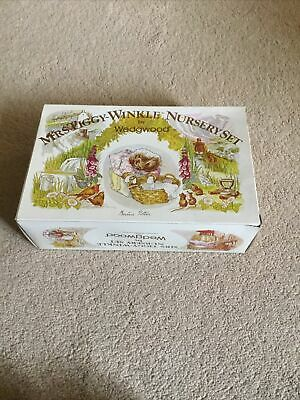 Mrs Tiggy Winkle Nursery Set By Wedgewood In Original Box Brand New • 20£