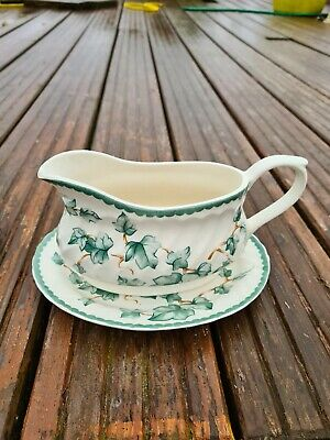 Bhs Country Vine Ivy Gravy Boat And Saucer • 4.95£