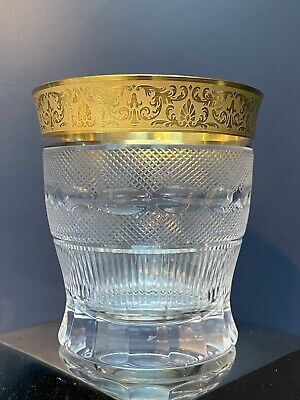 High Quality Signed Moser Splendid Whisky Double Old Fashioned Tumbler • 110£