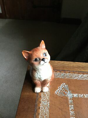 Beswick Seated Ginger Cat 1886 • 3.50£