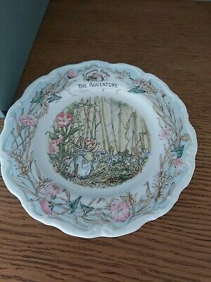 Royal Doulton Brambly Hedge Plate The Adventure • 21£