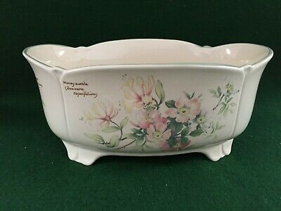 Royal Winton 1977 The Country Diary Collection ~ Floral Double Pot Planter • 15.95£