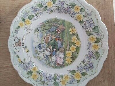 Royal Doulton Brambly Hedge  The Outing Plate • 17£