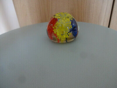 Glass Paperweight- The Colour Explosion • 11.50£