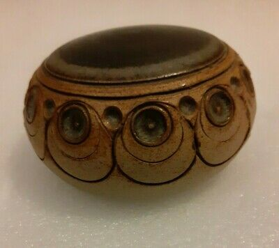 Vintage Jersey Pottery Paperweight • 10£