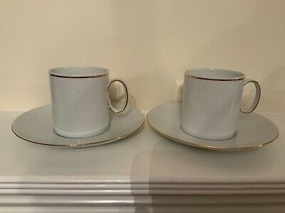 Thomas Rosenthal Group Germany 2 Cups And Matching Saucers  • 19.99£