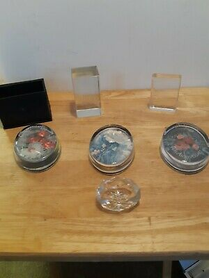 Collection Of Paperweights  • 12£