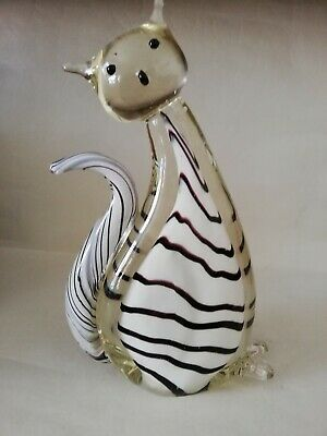 Glass Cat Figure • 18.99£