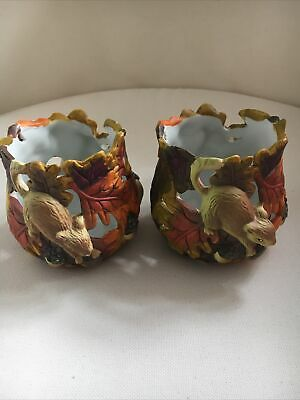 Candle Holders Animal Scene • 0.99£