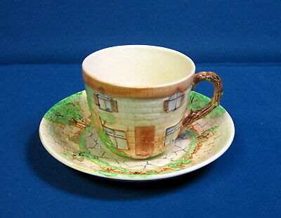 Vintage Pottery Beswick Cottage Ware Cup And Saucer • 8.78£