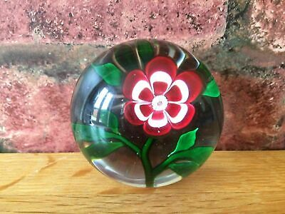 Fabulous Rare 1850 Antique Baccarat Single Primrose French Paperweight • 995£