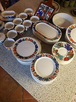 Villeroy And Boch Acapulco Large Set, Plates Cups Saucers Various Other Items  • 250£