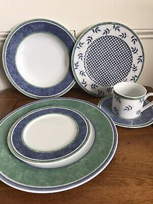 Elegant Villeroy & Boch Switch 3 6pc Table Setting - Dinner Service • 45£