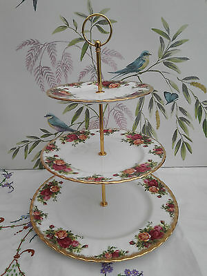 Royal Albert  Old Country Roses  Extra Large Cake Stand • 17.99£