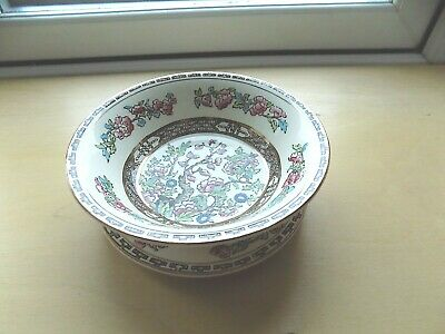 Bengal Tree Alfred Meakin Medina Shape Bowl And Stand Hand Painted Excellent Con • 19.99£
