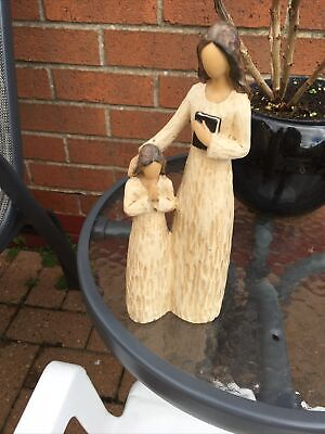 "Mother & Daughter In Figurine 9.5"" High • 5.99£"