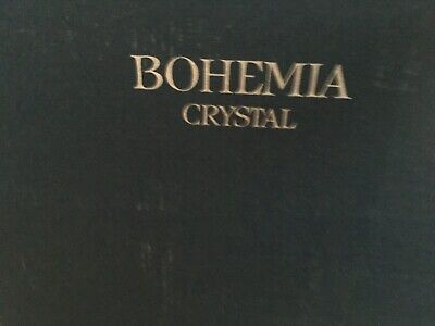 New Bohemia Crystal Glasses 6 Goblets Boxed • 40£